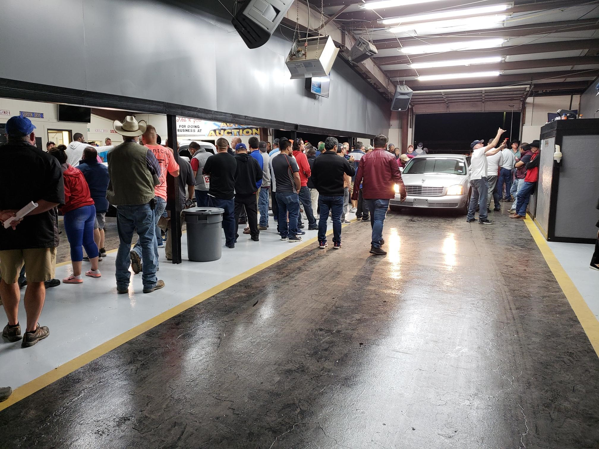 Rockwall Auto Auction Lane Image