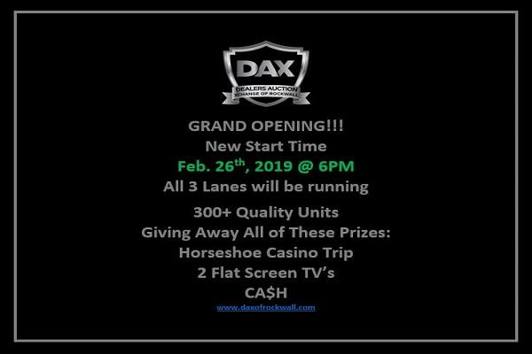 DAX Grand Opening
